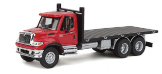 949-11652 HO Scale Walthers SceneMaster International(R) 7600 3-Axle Flatbed Truck