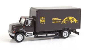 949-11293 HO Scale Walthers SceneMaster International(R) 4900 Single-Axle Box Van-UPS