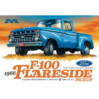 1232 Moebius 1966 F-100 Flareside Pickup 1/25 Scale Plastic Model Kit