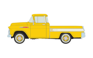 30573 HO Scale bClassic Metal Works 1957 Chevy Cameo-Golden Yellow
