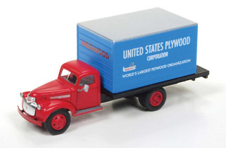 30482 HO Scale 1941-1946 Chevy Box Truck-US Plywood