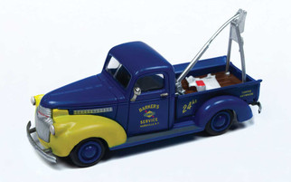 30546 HO Scale Classic Metal Works 1941-1946 Chevy Tow Truck-Sunoco