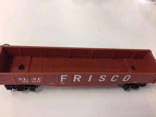 51537 O Scale Lionel Gondola Frisco #51537
