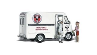 AS5529 Woodland Scenics HO Mickey's Milk Delivery