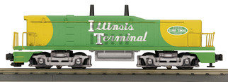 30-20587-3 O Scale MTH RailKing SW1200 Switcher Diesel Engine Calf (Non-Powered)-Illinois Terminal Cab #779