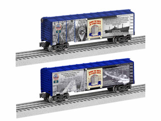 1938240 O Scale Lionel WWII Liberty Ships Boxcar