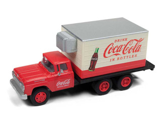 30520 HO Scale Classic Metal Works '60 Ford Box Truck Coca-Cola