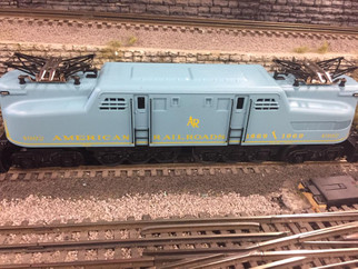 OLR505 O Scale O-Line Reproductions GG-1 PRR American RR #4902