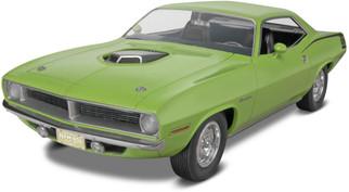 85-4268 Revell '70 Plymouth Hemi Cuda 2' n 1 1/25 Scale Plastic Model Kit