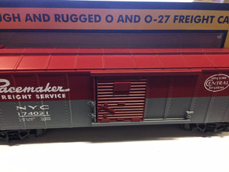 30-1656B O Scale MTH RailKing New York Central Box Car #174021