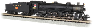 53453 N Scale Bachmann 4-8-2 Light Mountain Sound & DCC-Nashville, Chattanooga & St Louis #551 Dixie Line Logo