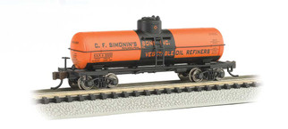 "17866 N Scale Bachmann ACF 36' 6"" 10,000 Gallon Tank Car-C.F. Simonin's Sons #20003"