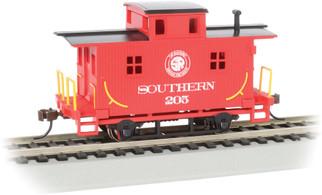 18406 HO Scale Bachmann 4-Wheel Wood Bobber Caboose-Southern Railway