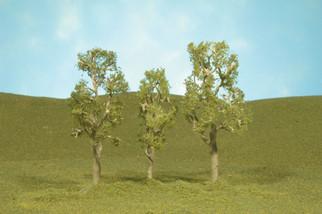 "32010 Bachmann SceneScapes Aspen Trees 3""-4"" 3pk"