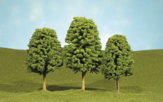"""32206 Bachmann SceneScapes Deciduous Trees 5 1/2""""-6 1/2"""" Trees"""