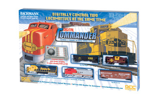 00501 HO Scale Digital Commander Train Set