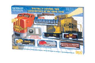 00501 HO Scale Digital Commander Train Set