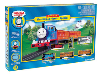 00644 HO Scale Bachmann Deluxe Thomas & Friends Special Train Set