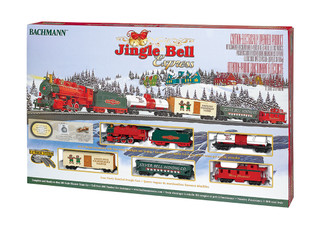 00724 HO Scale Bachmann Jingle Bell Express Train Set