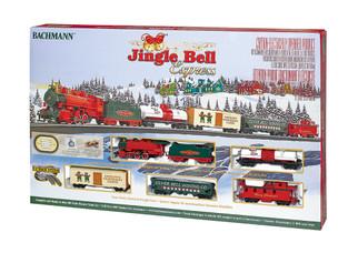 00724 HO Scale Bachmann Jingle Bell Express Train Set