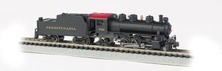 51553 N Scale Bachmann 2-6-2 Prairie Standard DC-Pennsylvania Railroad #2765