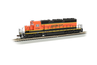 60916 HO Scale Bachmann SD40-2 DCC locomotive-BNSF Railway #1734(Heritage III H3)