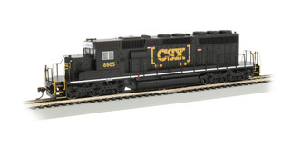 60917 HO Scale Bachmann SD40-2 DCC Locomotive-CSX #8905 (Black)