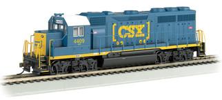 63530 HO Scale Bachmann EMD GP40 Standard DC Locomotive-CSX #4409 (Dark Future)