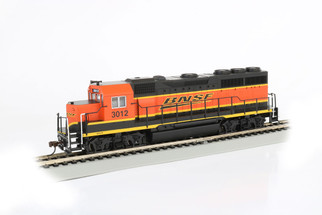 63532 HO Scale Bachmann EMD GP40 Standard DC Locomotive-BNSF #3012