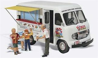 AS5338 Woodland Scenics N Scale Ike's Ice Cream Truck