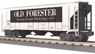 30-75623 O Scale MTH RailKing Ps-2 Discharge Hopper Car-Old Forester Whisky No. 5657