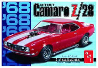 AMT868 AMT '68 Chevrolet Camaro Z/28 1/25 Scale Plastic Model Kit