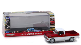 86318 O Scale Greenlight Collectibles '79 Ford F-Series Red & White 1/43 Scale Die-Cast