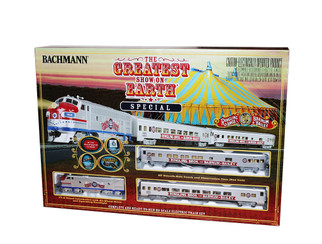 00749 HO Scale Bachmann Ringling Brothers & Barnum & Bailey Greatest Show on Earth Special