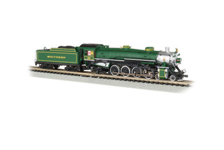 53451 N Scale Bachmann 4-8-2 Light Mountain DCC Sound Value-Southern #1489