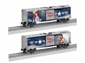 1938270 O Scale Lionel Wings of Angels-Lisa Marie Boxcar