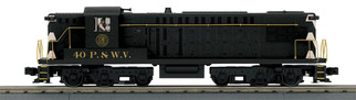 30-20591-1 O Scale MTH RailKing AS-616 Diesel Engine w/ProtoSound 3.0-Pittsburgh and West Virginia Cab #40