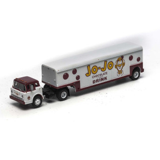 "ATH92000 HO Scale Athearn Ford ""C"" & Beverage Trailer-Jo-Jo Chocolate Drink"