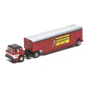"ATH91849 HO Scale Athearn Ford ""C"" & Beverage Trailer-U.B. Schuiggenpeuken"