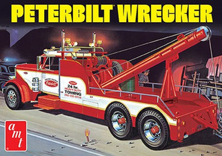 AMT1133 AMT Peterbilt Wrecker 1/25 Scale Plastic Model Kit