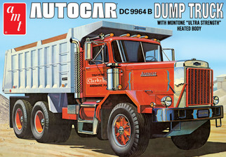 AMT1150 AMT Autocar Dump Truck 1/25 Scale Plastic Model Kit