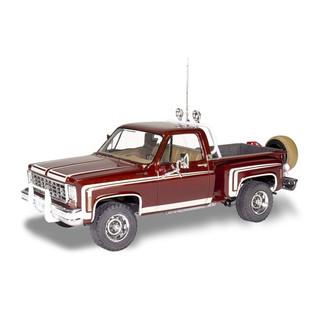 85-4486 Revell '76 Chevy Sport Stepside Pickup 4X4 1/24 Scale Plastic Model Kit