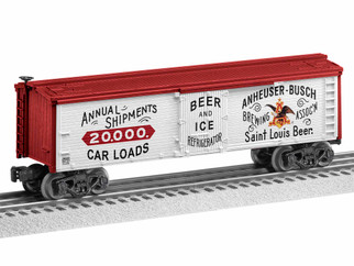 1928220 O Scale Lionel 1890's Anheuser Busch Reefer