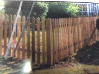 750 O Scale Branchline Gothic Standard Picket Fence(For Toy Train Layout)