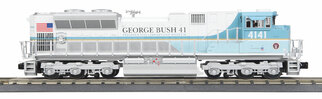 30-20635-1 O Scale MTH RailKing SD70ACe Imperial Diesel Engine w/ProtoSound 3.0-George H. Bush Cab No. 4141