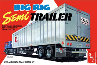 AMT1164 AMT Big Rig Semi Trailer 1/25 Scale Plastic Model Kit