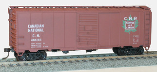 35089 HO Scale Accurail AAR 40' Steel BoxCar Canadian National
