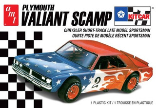 AMT1171 AMT Plymouth Valiant Scamp Kit Car 1/25 Scale Plastic Model Kit