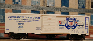 96446 O Scale Ready Made Trains Coast Guard Boxcar