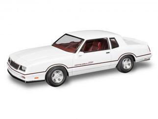 85-4496 Revell 1986 Chevrolet Monte Carlo SS 2' n 1 1/24 Scale Plastic Model Kit